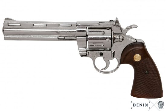 6304a python-revolver-6in-usa-1955 -silver