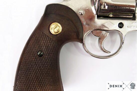 6304c python-revolver-6in-usa-1955 -silver