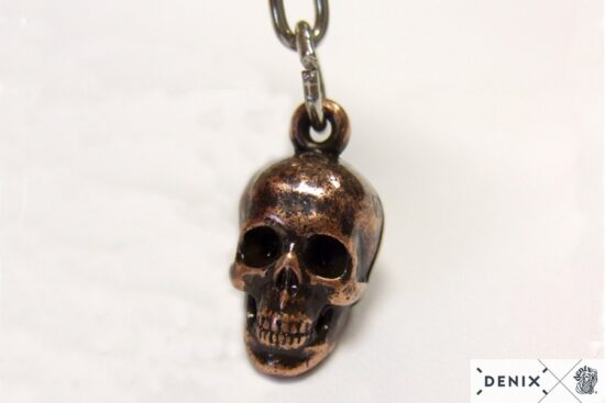 8901-2-denix-skull-key-ring