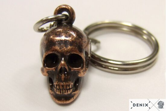 8901-3-denix-skull-key-ring