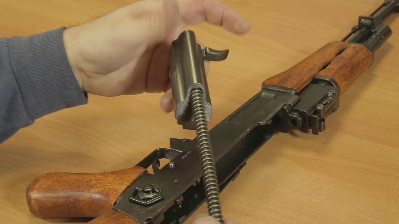 VIDEO ASSEMBLY TUTORIALS: AK47 ASSAULT RIFLE, RUSSIA 1947