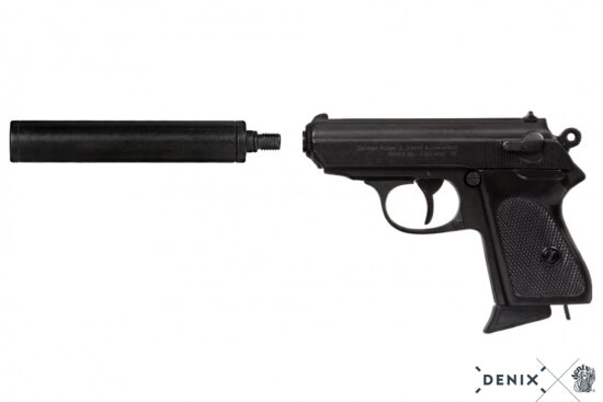 1311-B-denix-Semi-automatic-pistol-with-silencer–Germany-1931
