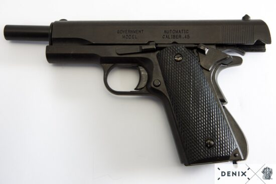 1312-i-denix-Automatic–45-pistol-M1911A1-USA-1911–WWI—II- (5)