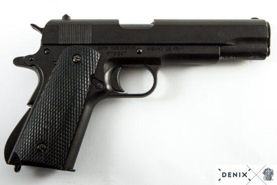 1312-w-denix-Automatic–45-pistol-M1911A1-USA-1911–WWI—II- (5)