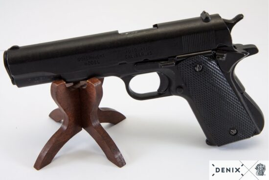 1316-G-denix-Automatic–45-pistol-M1911A1–USA-1911–WWI—II-