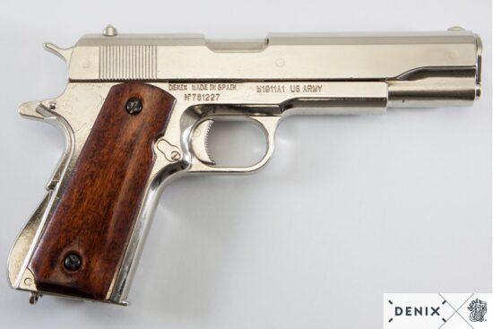 6316-denix-Automatic–45-pistol-M1911A1–USA-1911–WWI—II–3