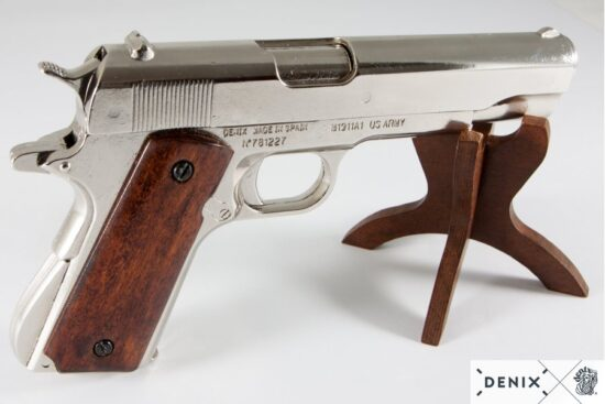 6316-denix-Automatic–45-pistol-M1911A1–USA-1911–WWI—II–4