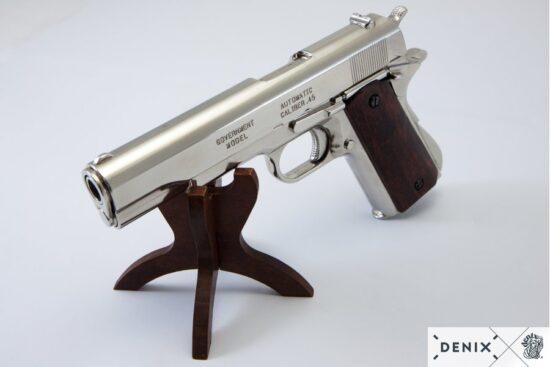 6316-denix-Automatic–45-pistol-M1911A1–USA-1911–WWI—II–6