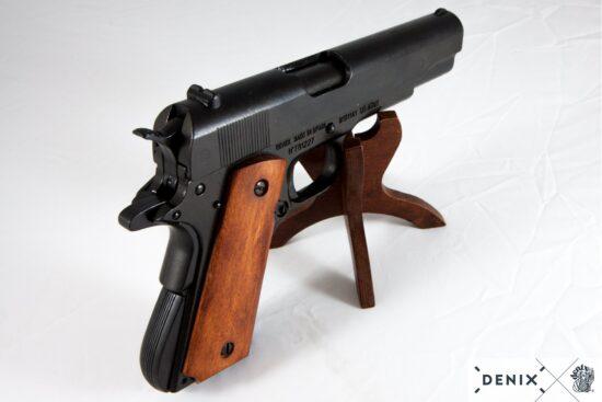 9312-b-denix-Automatic–45-pistol-M1911A1-USA-1911–WWI—II- (5)