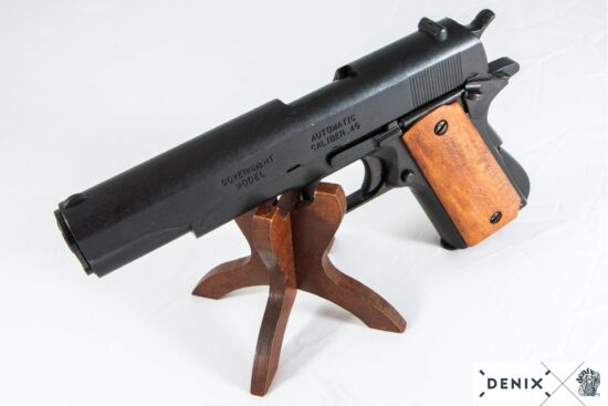 9312-e-denix-Automatic–45-pistol-M1911A1-USA-1911–WWI—II- (5)