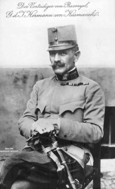 Hermann Kusmanek von Burgneustädten, G.d.I. General der Infanterie (Infantery General)