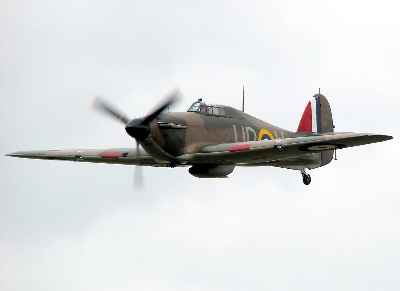 Hawker Hurricane, MK I, from the Battle of Britain