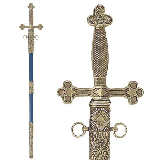 4119- g – masonic-sword-with-scabbard-18th-century-88cm